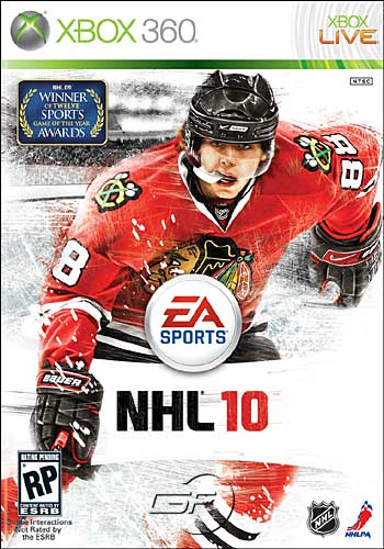 Cover of NHL 10