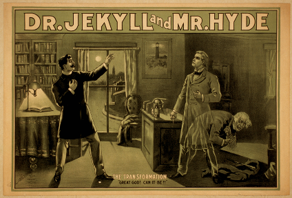 Original Dr. Jekyll and Mr. Hyde Poster